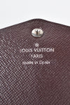 Louis Vuitton Dark Purple Epi Leather Sarah Wallet