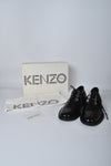 Kenzo Women's Black Patent Lace-up Derby