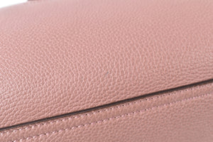 Gucci Pink Pebbled Leather Soft Jackie Large Top Handle Bag 362970 200047