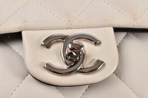Chanel Tri-color Jumbo Double Flap in Lambskin SHW