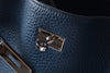 Hermes So Kelly 26 PHW in Bleu de Prusse Clemence Stamp N