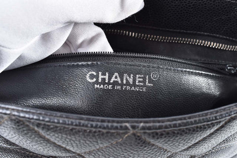 Chanel Medallion Black Caviar SHW 6927779