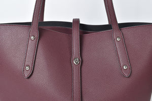 Coach Red Market Leather Tote