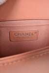 Chanel Dark Beige Quilted Old Medium Lambskin Boy BHW