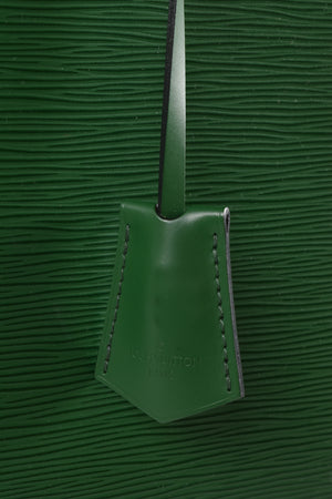 Louis Vuitton Alma GM Bag in Green Epi Leather