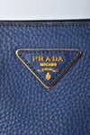 Prada Vitello Daino Inchiostro Top Handle Tote