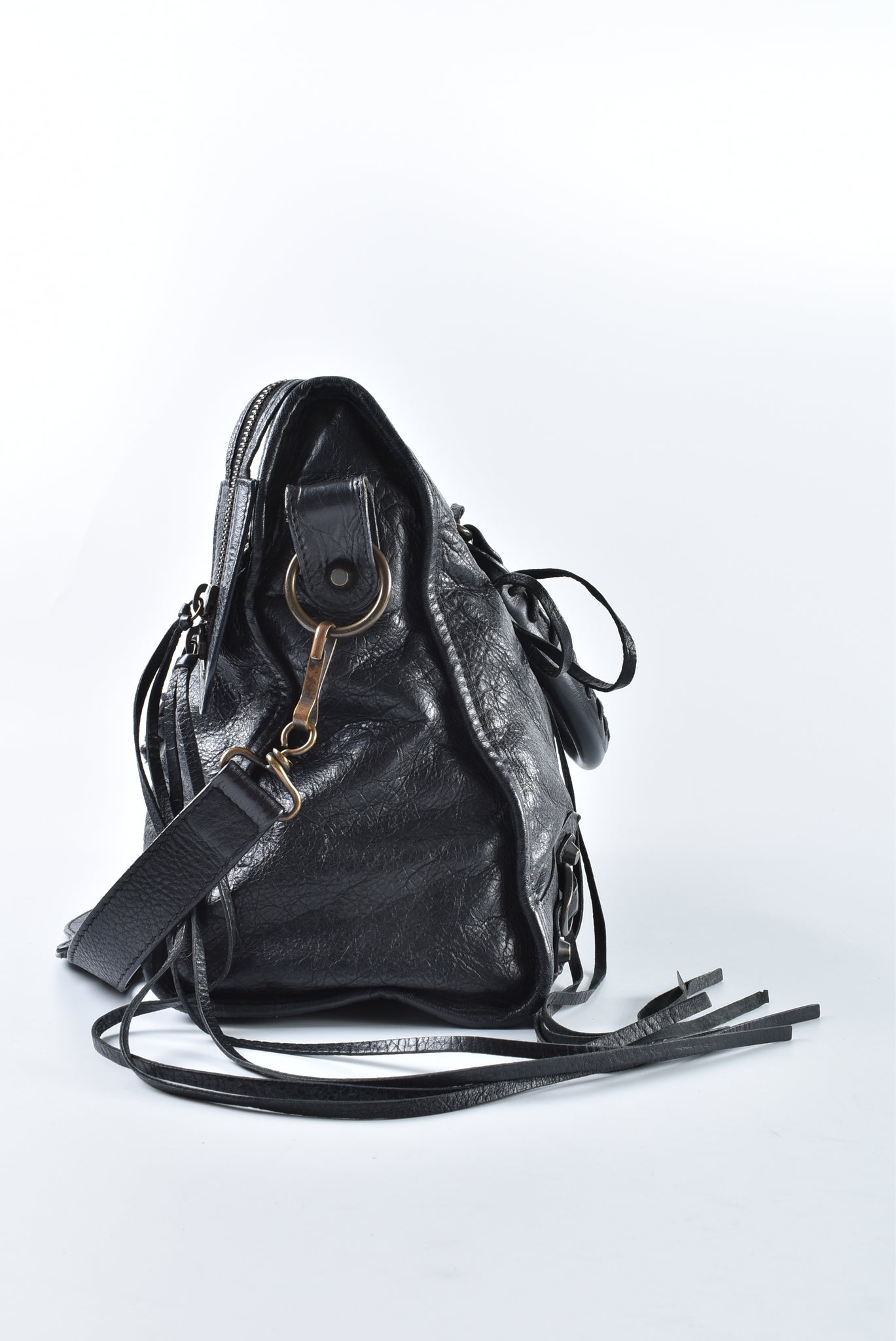 Balenciaga Classic City in Black 115748.1000 001317 (L) - Glampot