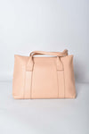 Salvatore Ferragamo Quarzo Rosa Calfskin Leather Medium Sookie Satchel Bag