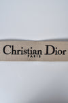 Dior Black 'Christian Dior' Embroidery Shoulder Strap