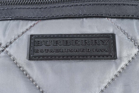 Burberry Grey Nylon Tote