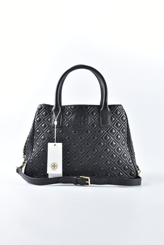 Tory Burch Marion Small Shoulder Bag in Black
