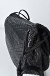 Bottega Veneta Intrecciato Nappa Black Messenger Bag 245342