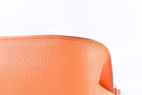 Hermes Jypsiere 34CM Orange Togo PHW