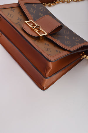 Louis Vuitton Dauphine MM Monogram Reverse
