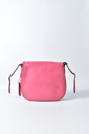 Coach 1941 Saddle 23 In Glovetanned Leather in Pink