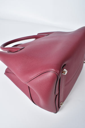 Christian Dior Open Bar Small Tote Bag in Burgundy