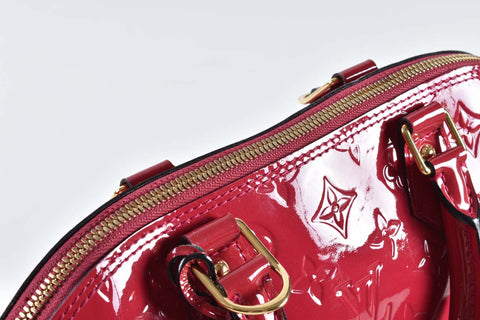 Louis Vuitton PM Alma Vernis in Pink Rose FL 3164