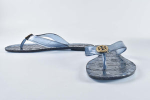 Tory Burch Blue Jelly Sandals