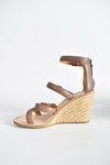 Marc By Marc Jacobs Strappy Wedge Sandals in Beige size 37