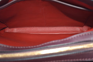 Coach 56839 Carryall Brooklyn 28 Maroon Satchel