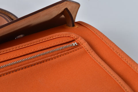 Hermes Herbag Zip 31 in Orange