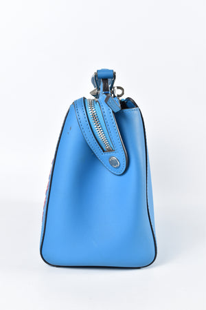 Fendi Blue/Red Dot.Com Bag From Spring 2016 Collection 01309067
