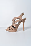 Christian Dior Ultime Cage Sandals in Light Brown
