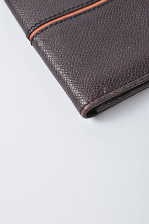 Tod's Brown Leather Card Holder