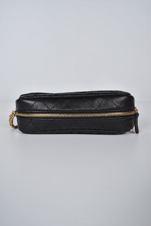 Chanel A91768 Aged Calfskin Small 2.55 Reissue Camera Bag in Black GHW
