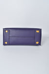 Michael Kors Studio Mercer Large Messenger in Purple