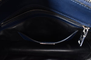 Prada City Calf Leather in Royal Blue