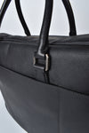 Prada Black Saffiano Leather Travel Briefcase Bag