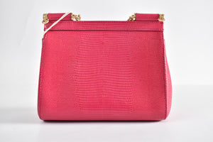 Dolce & Gabbana Miss Sicily Small Shoulder Bag in Pink