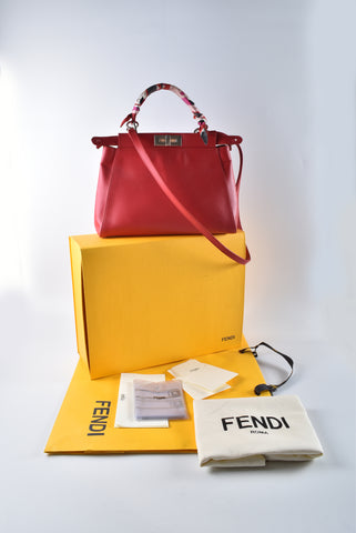Fendi Monster Peekaboo Regular Vit.Morgan/ Ayersi / Occhio 8BN226 2XL F0Y9V