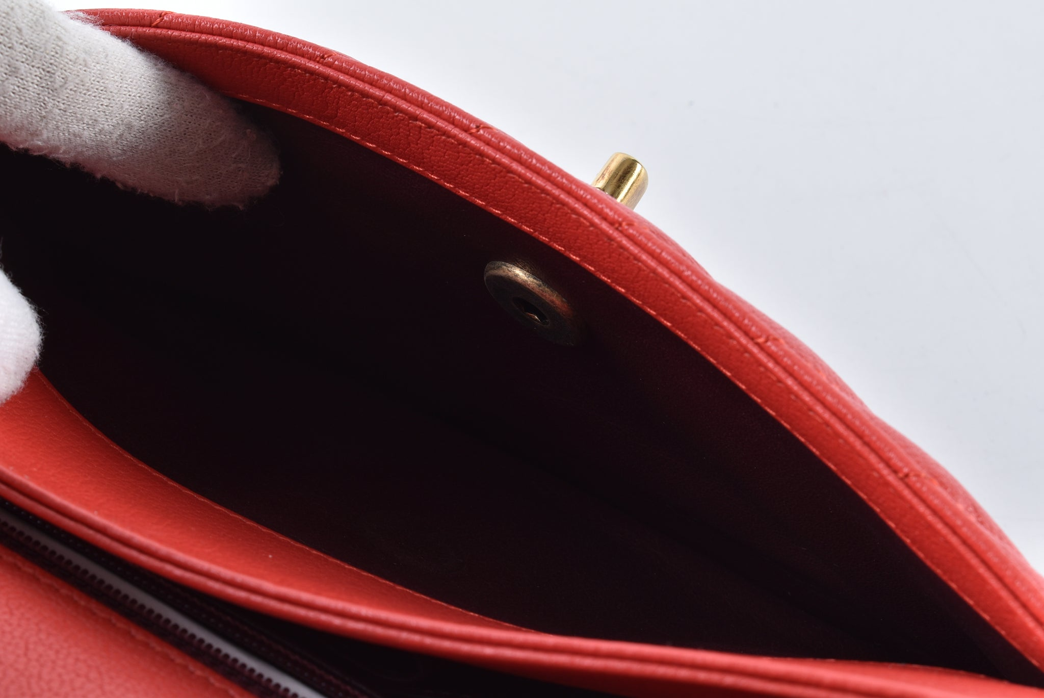 Chanel A93229 Y604872 B307 Sling Bag in Red - Glampot