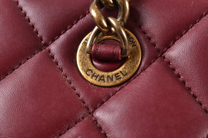 Chanel Red 2012 Seasonal Tote GHW