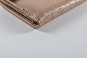 Gucci Piccola Pelletteria Flap Wallet Light Brown