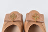 Tory Burch Sedgewick Ballet-Glossy North Leather in Blond 203