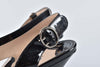 Prada Calzature Donna Nero Patent Leather