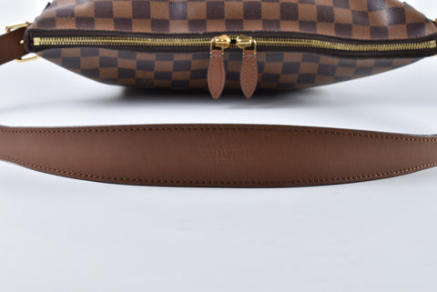 Louis Vuitton Diane Damier Ebene Canvas Handbag Bag SR2174