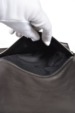 Longchamp Black Leather Briefcase