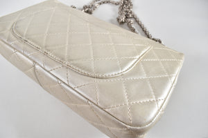 Chanel 2.55 Reissue 227 Quilted Lambskin Double Flap Bag SHW 12716760v