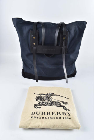 Burberry Canvas Tote Bag