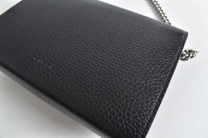 Gucci Black Pebbled Leather Dionysus Mini Chain Bag 401231.2067