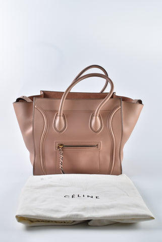 Celine Phantom Medium Flesh Tote Bag S-TB 1212 - Glampot
