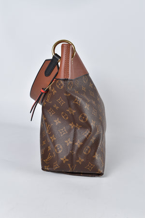 Louis Vuitton Caramel Monogram Canvas Tuileries Hobo Bag