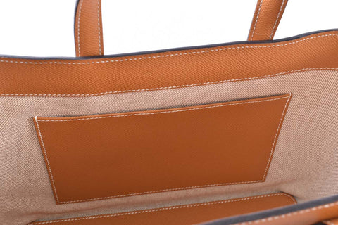 Hermes Maxibox Cabas 30 in Brown Stamp A