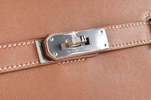 Hermès Jypsiere 26 Gold Swift PHW Stamp P