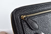 Burberry Ladies Wallet Black Leather Zippy