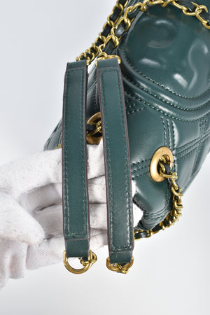 Tory Burch Fleming Soft Convertible Shoulder Bag in Norwood Green